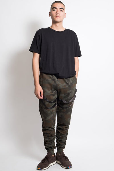 Brooklyn Cloth Camo Strappy Jogger Pants for Men