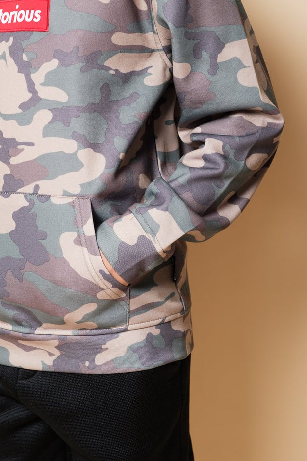 Brooklyn Cloth Boys Camo Notorious Hoodie