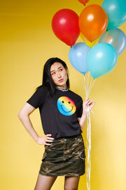 Brooklyn Cloth Pride Rainbow Smiley Tee