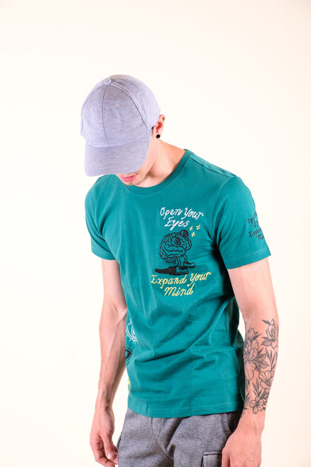 Boys' Heather Grey Side Stripe Shorts