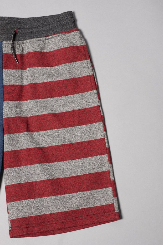 Brooklyn Cloth Boys' Stars and Stripes Jogger Shorts