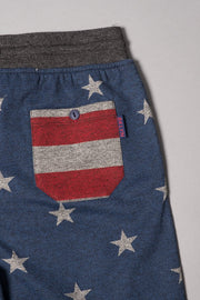 Boy Stars and Stripes Jogger Shorts