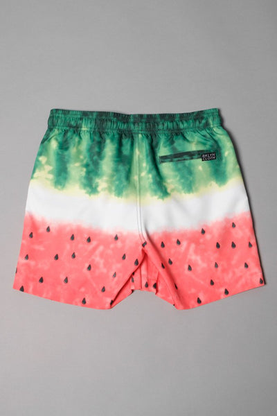 Brooklyn Cloth Boys Watermelon Swim Shorts