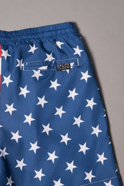 Brooklyn Cloth Boys Stars and Stripes Swim Short