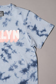 Brooklyn Cloth Boys' blue Tie Dye Tee
