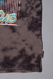 Boy's Black Graphic Tie Dye T-Shirt