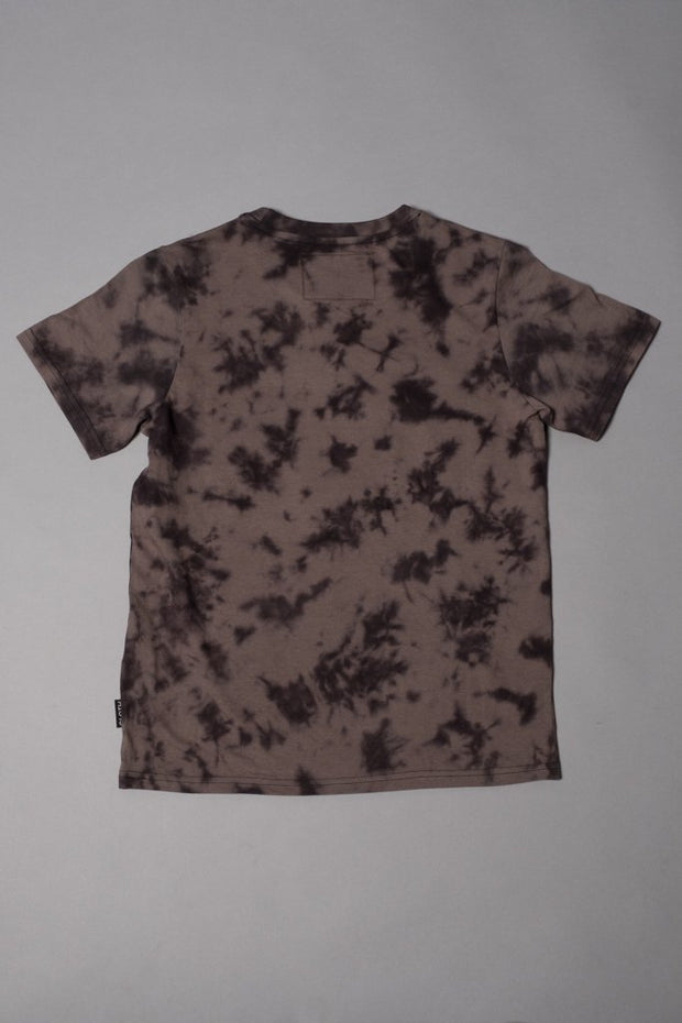 Boys Black Graphic Tie Dye T-Shirt at Brooklyn Cloth
