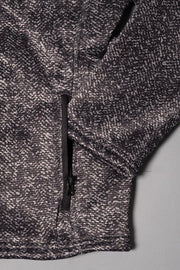 Brooklyn Cloth Boys Black Sherpa Herringbone Cozy Hoodie