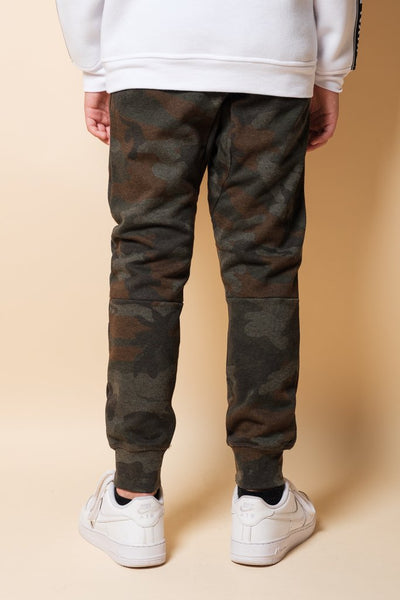 Youth Dark Camo Jogger Pants
