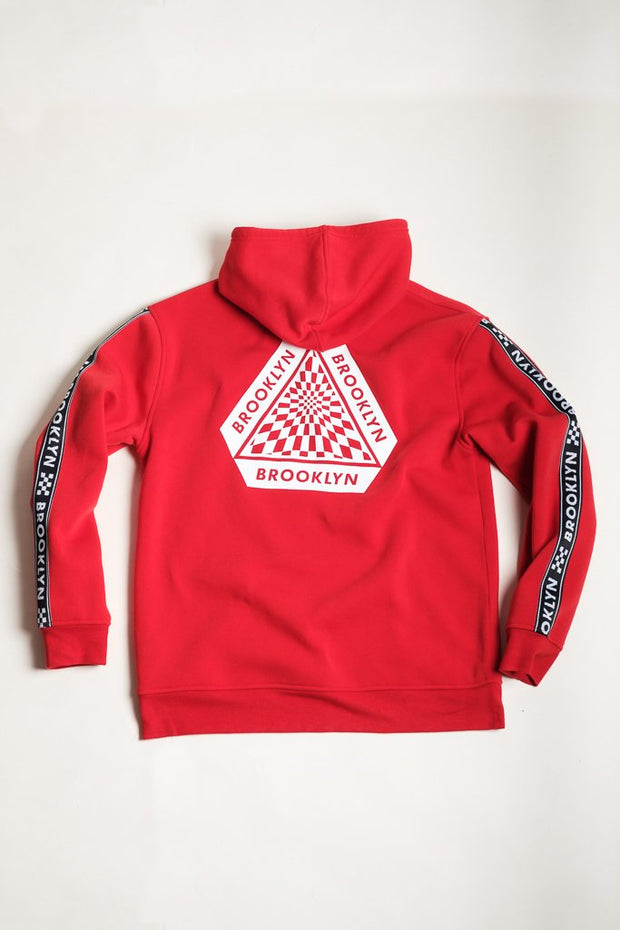 Red Street wear Hoodie for Men
