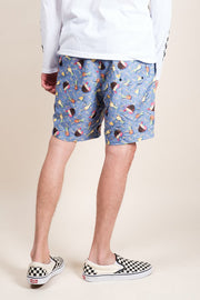 Brooklyn Cloth Pina Colada Swim Trunks for Men