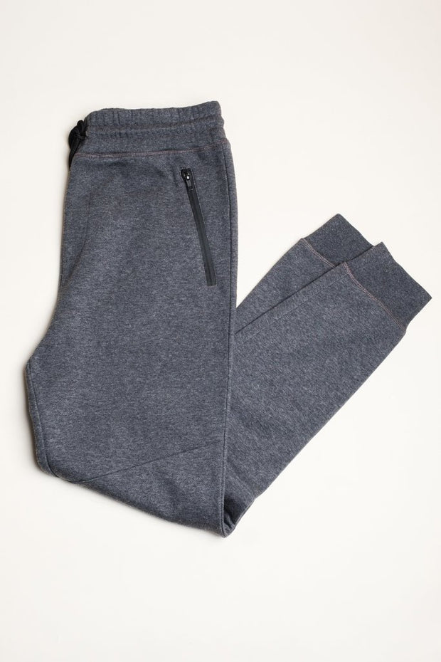 French Terry Basic Jogger Pants for Men