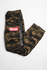 Savage Camo Poly Fleece Jogger Pants
