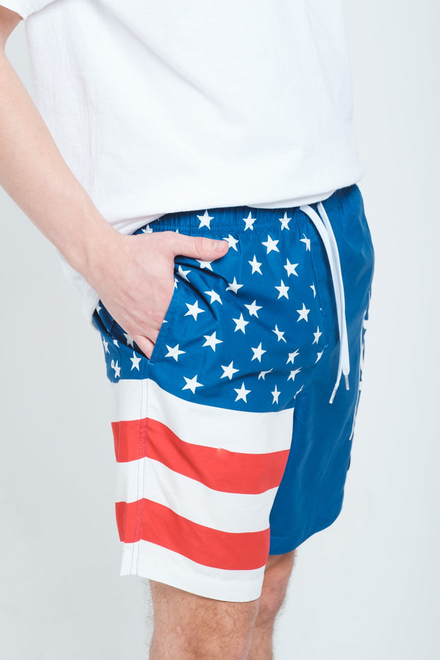USA Block Swim Trunks