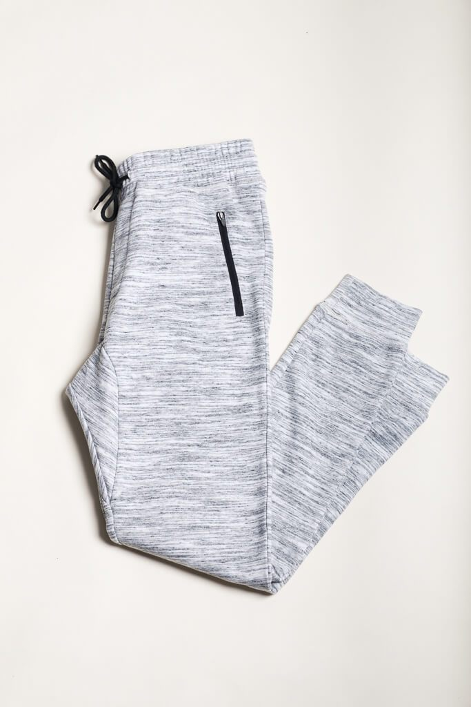 Natural Knit Space Dye Jogger Pants