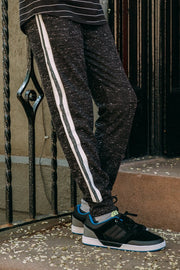 Boys Black Knit Joggers from Brooklyn Cloth