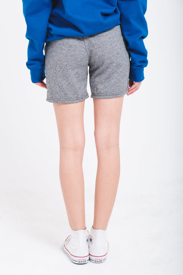 Women's Black Marl Shorts