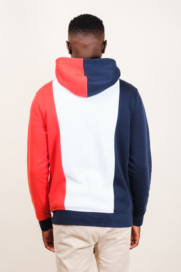 Brooklyn Cloth New York Vertical Color Blocked Hoodie