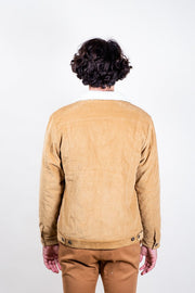 Brooklyn Cloth Tobacco Corduroy Sherpa Jacket