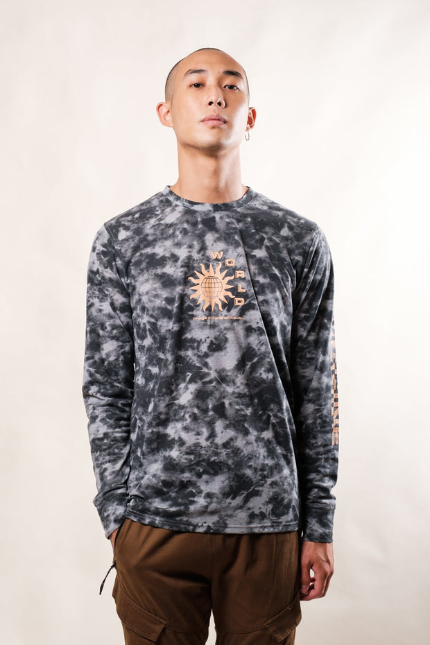 Tie Dye Imagine Long Sleeve Tee