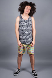 Brooklyn Cloth Navy Tie Dye Tank Top for Men