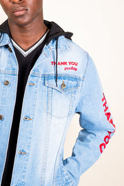 Brooklyn Cloth Thank You Denim Jacket