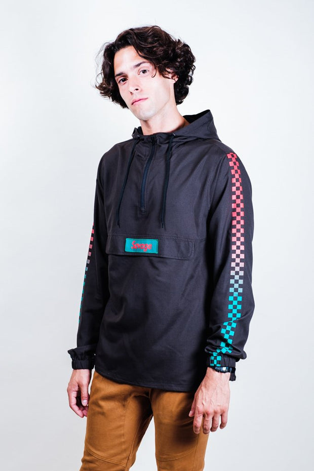Black Savage Anorak