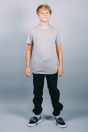 Brooklyn Cloth Boys Grey Basic Tee
