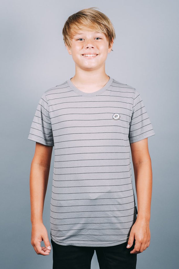 Boys Grey Basic Tee