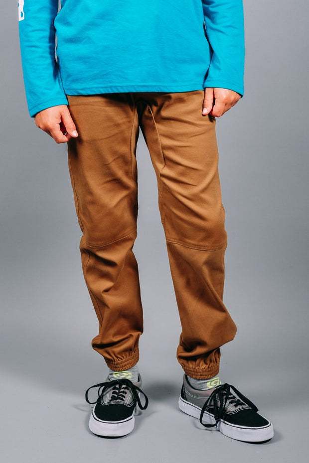 Boys Tobacco Jogger Pants