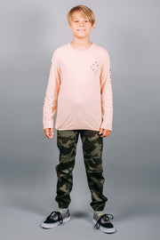 Brooklyn Cloth Boys Camo Jogger Pants
