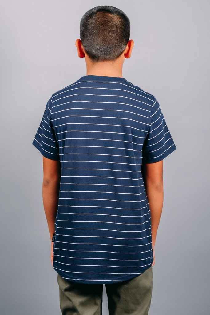 Boys Navy Basic Tee