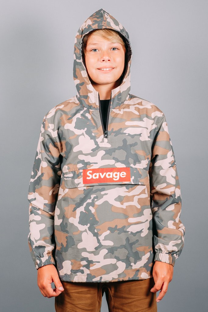 Boys Savage Anorak