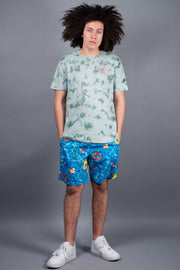 "Pool Print 8"" Swim Trunks"