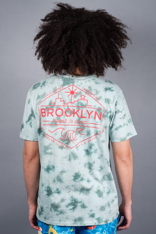Brooklyn Coast to Curb Tie Dye Tee