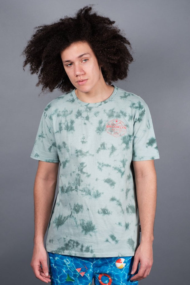 Brooklyn Coast to Curb Tie Dye Tee for men