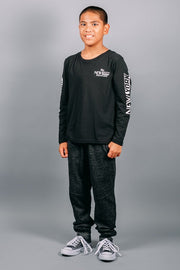 Brooklyn Cloth Boys Black Long Sleeve Tee