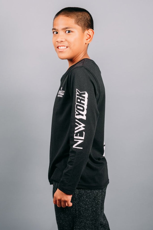 Boys Black Long Sleeve at Brooklyn Cloth