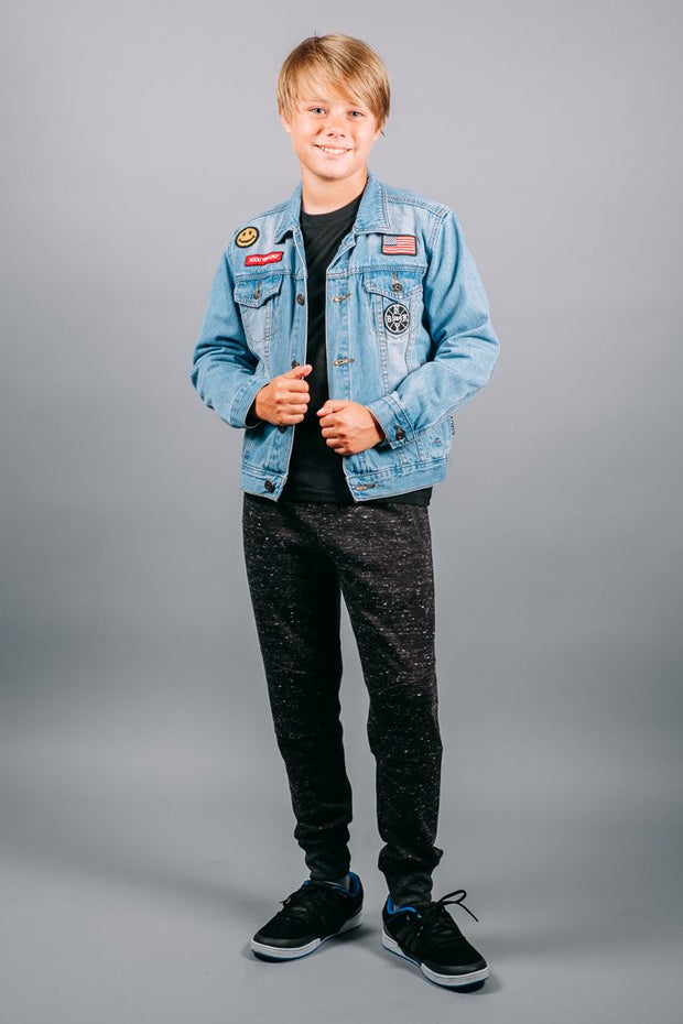 Brooklyn Cloth Boys American Flag Denim Jacket