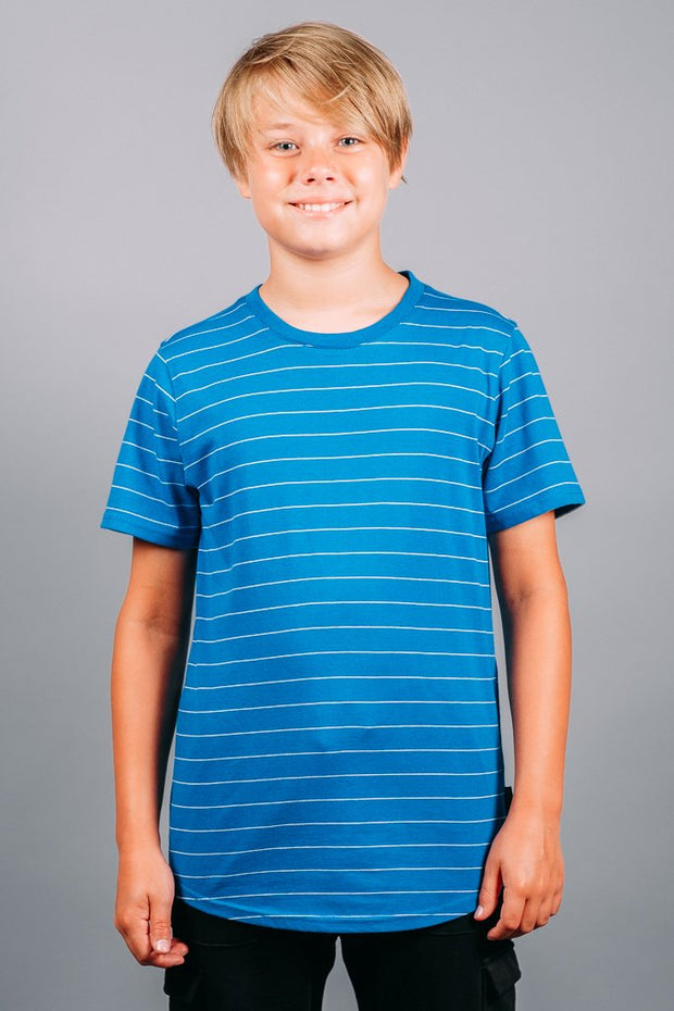 Boys Blue Basic Tee