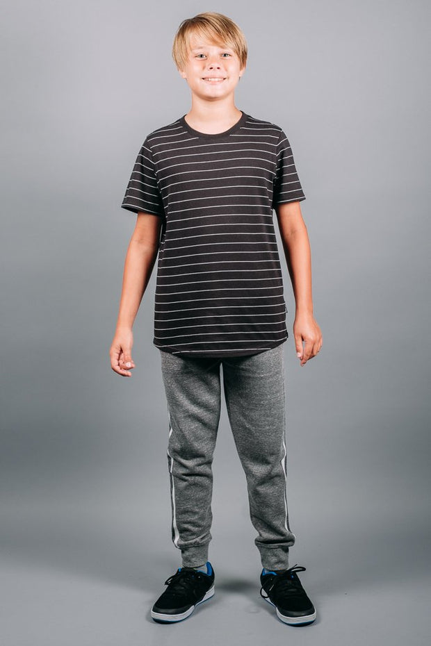 Boys Jogger Pants in Grey at Brooklyn Cloth