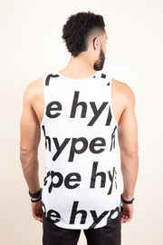 Brooklyn Cloth White Hype Tank Top