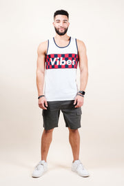 White Vibes Tank Top Brooklyn Cloth