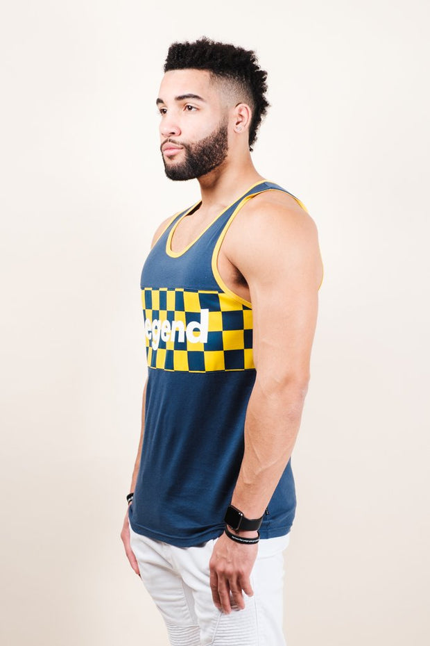 Blue Legend Tank Top for Men