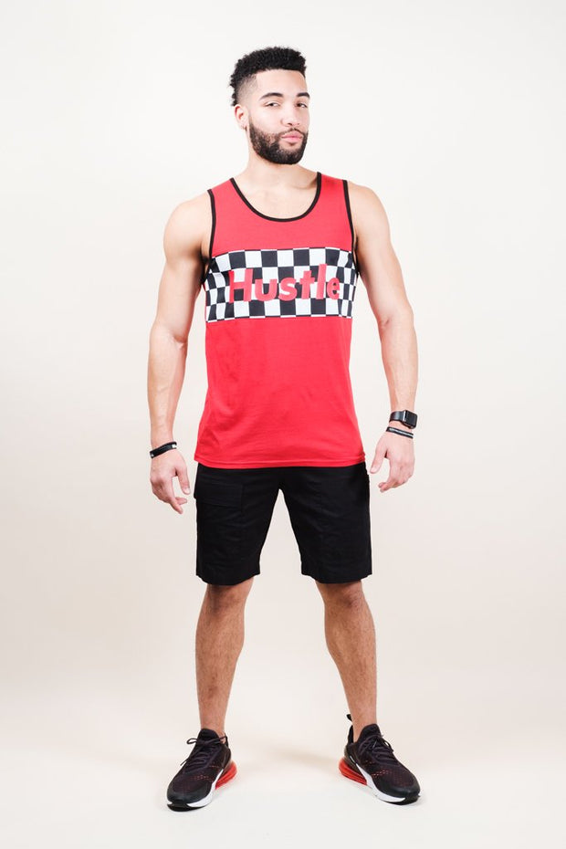 Brooklyn Cloth Red Hustle Tank Top