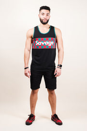 Black Savage Tank Top Brooklyn Cloth