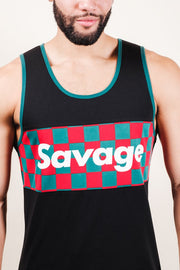 Black Savage Tank Top