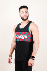 Mens Black Savage Tank Top