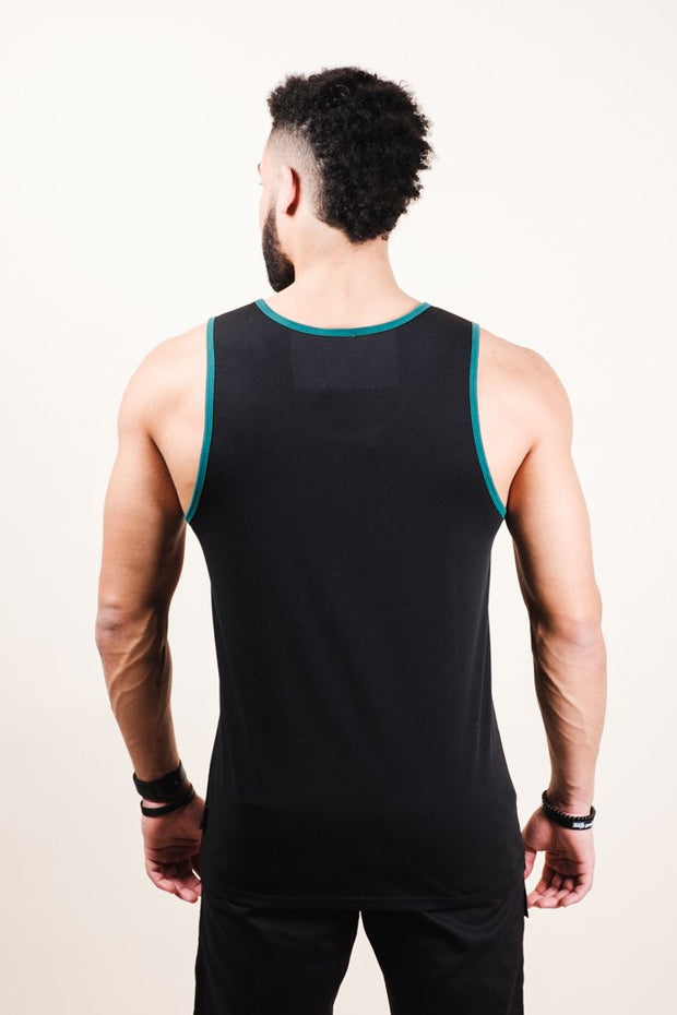 Black Savage Tank Top for Men