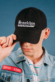 Brooklyn Cloth Black hat